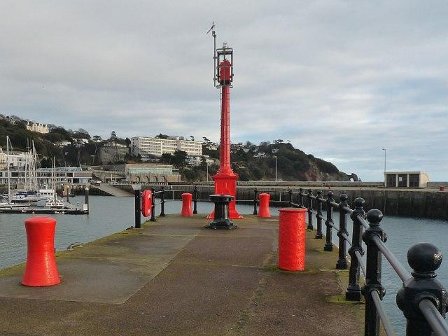 The end of Princess Pier, Torquay