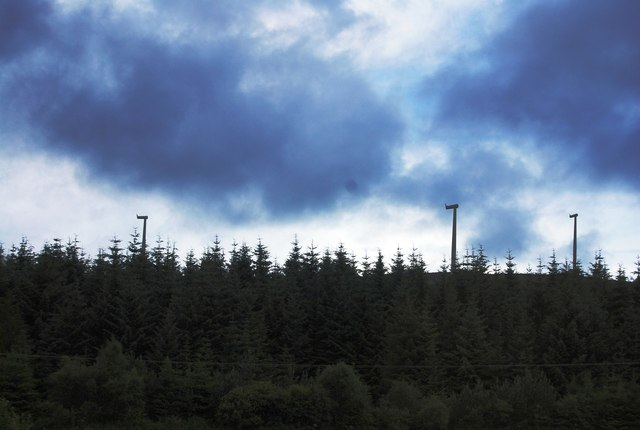 New turbines, Simon's Knowe