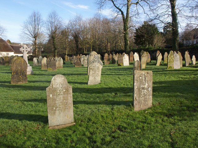 Churchyard, North Tawton