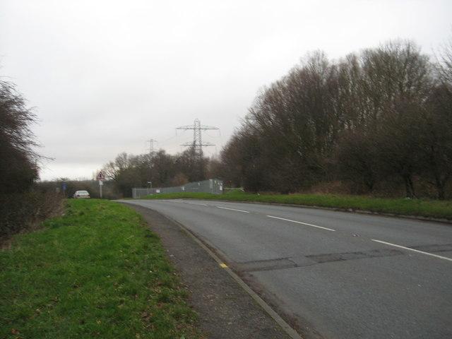 Ravenhayes Lane near Kitwell