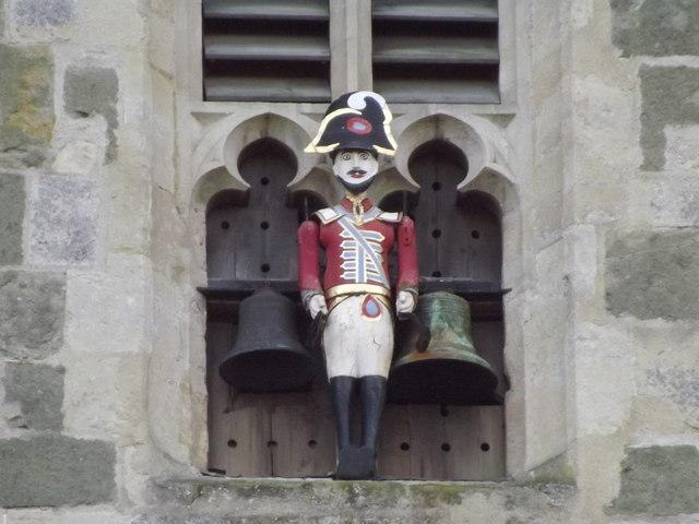 Quarter Jack, Wimborne Minster