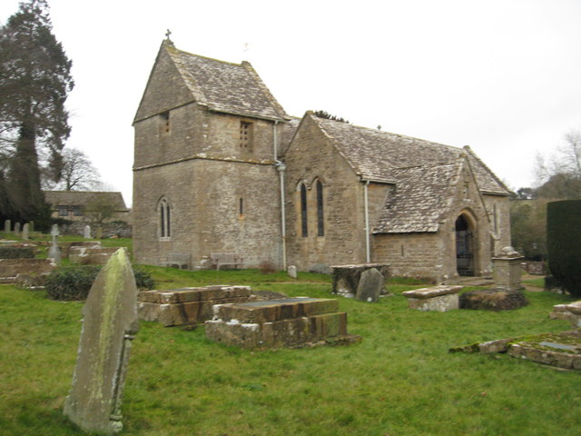 St. Peter's Church at Duntisbourne Abbots