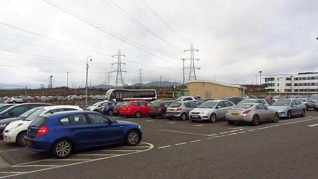 Park and ride, Shawfair