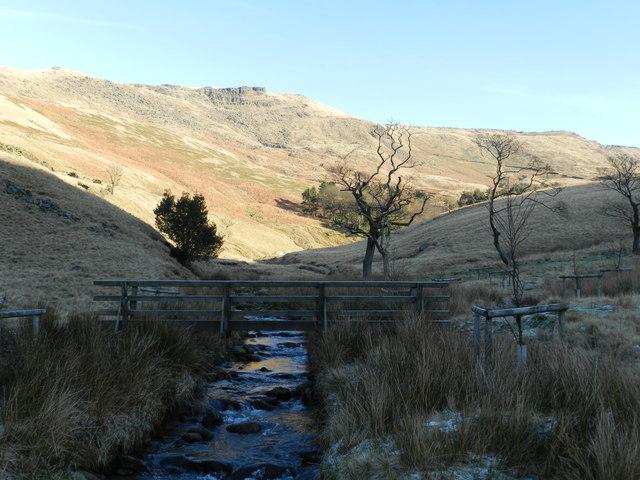Footbridge over the River Kinder