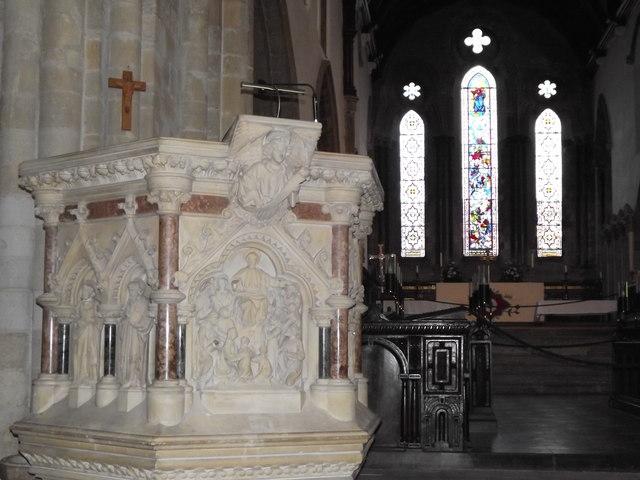 Wimborne Minster Pulpit