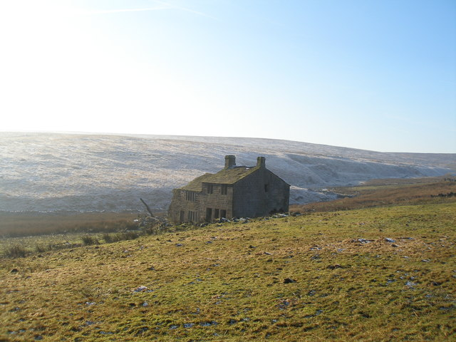 Derelict farm at Pad Laithe