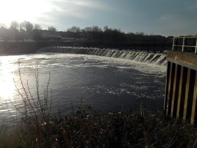 Knottingley Weir