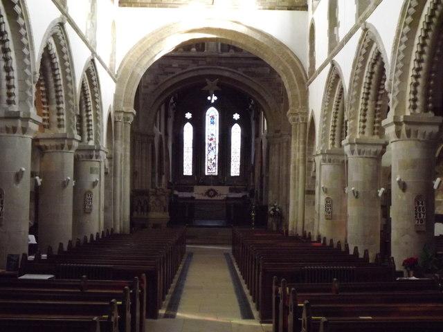 Wimborne Minster Interior