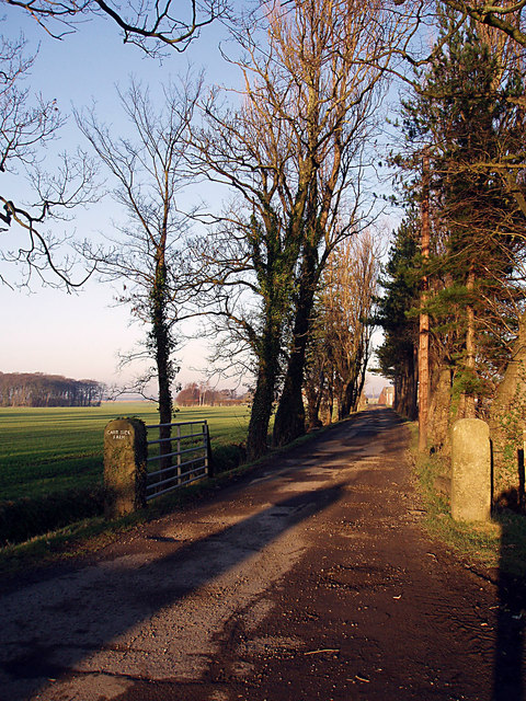 Entrance to Carr Side Farm