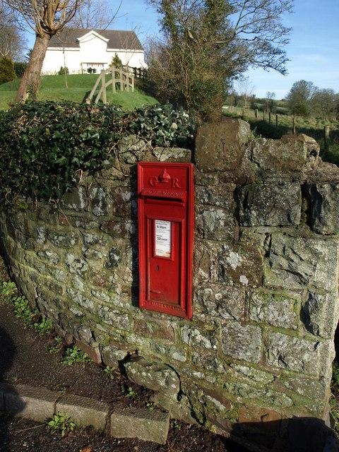 Postbox, North Tawton