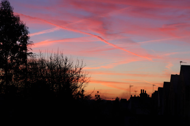 Sunrise Over East Finchley