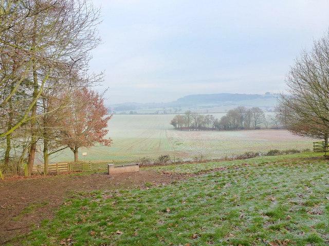 View north from Bryngwyn Hill