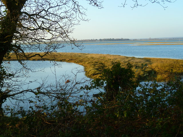 Looking across Horse Pond in Chichester Channel