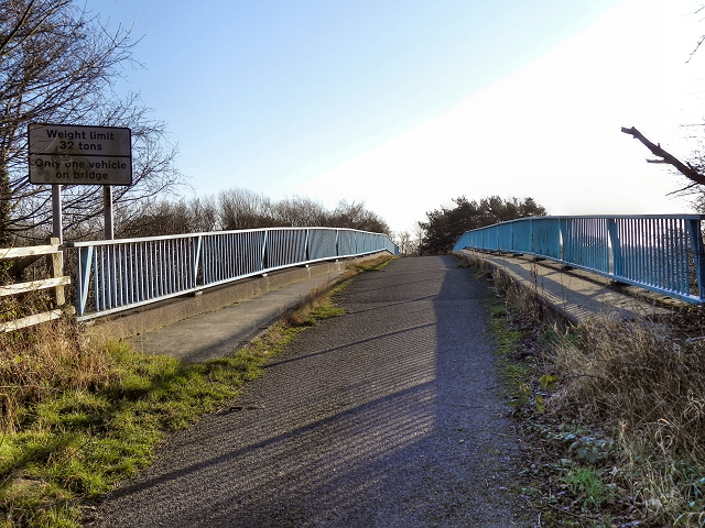 Ashley Hall Footbridge