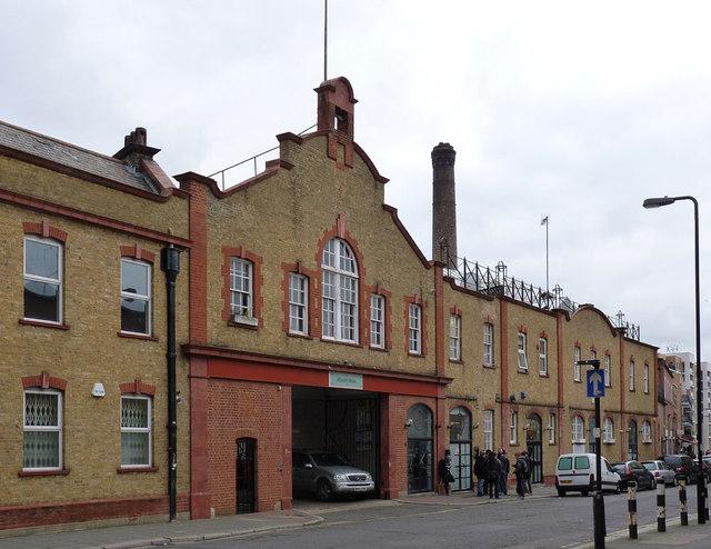 Former Du Cros motor car factory