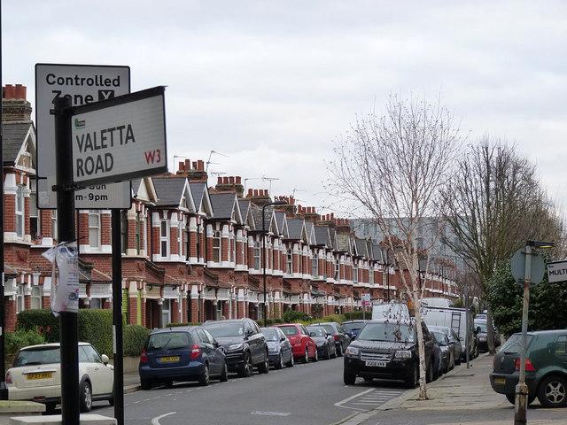Valetta Road