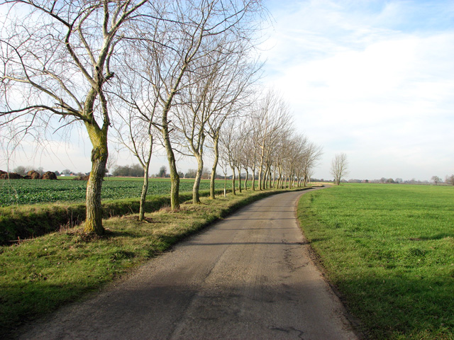 Lane to Red House Farm