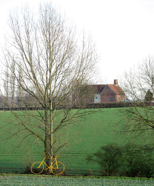 View towards Okenhill Hall from the B1120 road