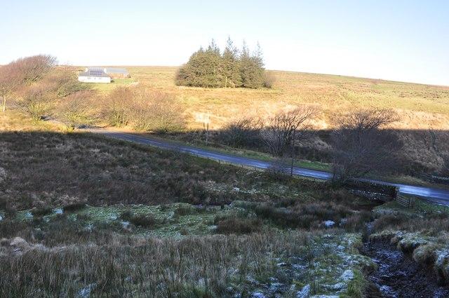 Exmoor : Moorland & B3223