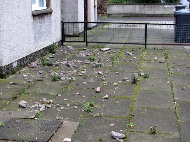 Debris, Lansbury Court