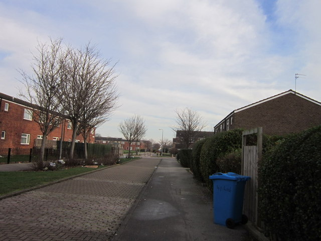 The former Fountain Road at Waterloo Street