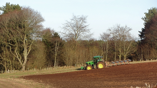 Ploughing by Ploughlands Strip