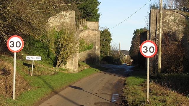 Approaching Roxburgh