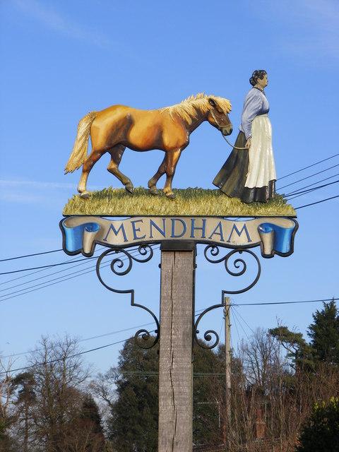 Mendham Village Sign