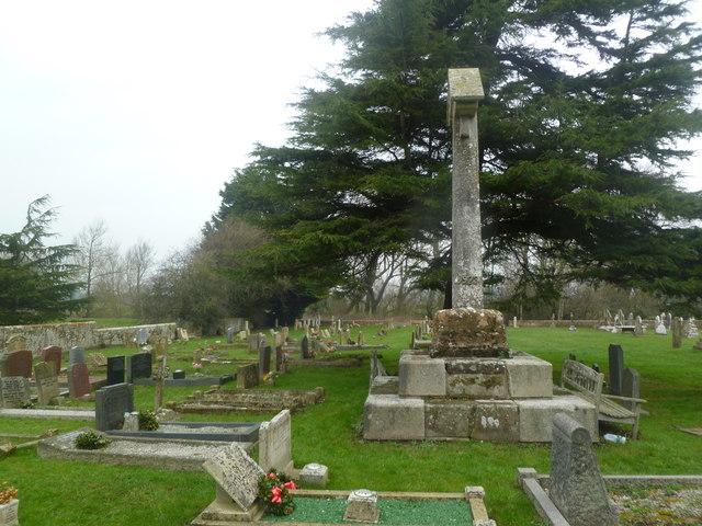 Sturminster Marshall, churchyard cross