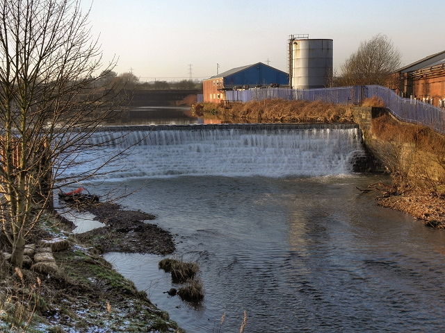 River Irwell, Bealey's Weir