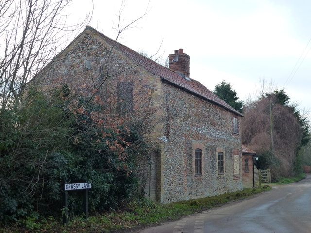 House at the end of Grassy Lane, Congham, Norfolk