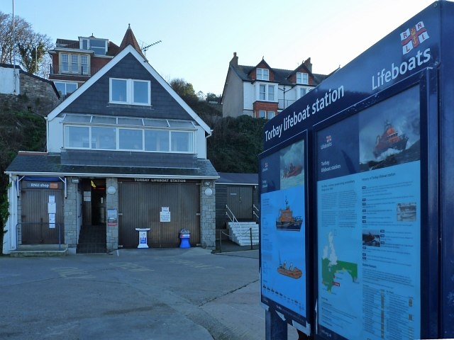 Torbay Lifeboat Station, Brixham