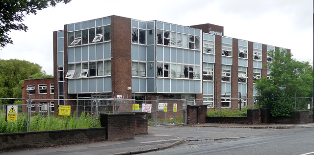 Derelict offices, Manchester Road, Altrincham