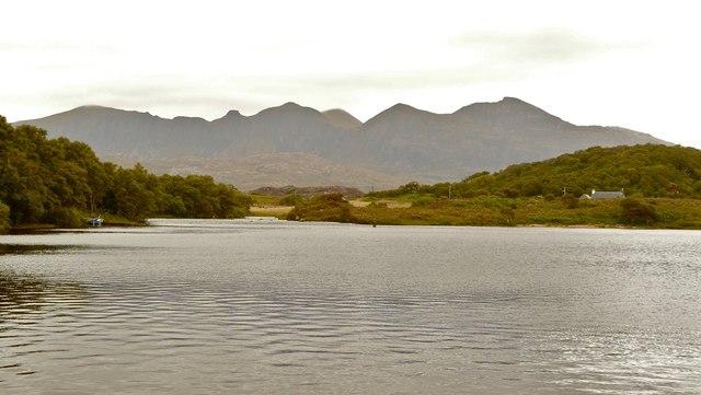 Lochan an Iasgaich, River Inver