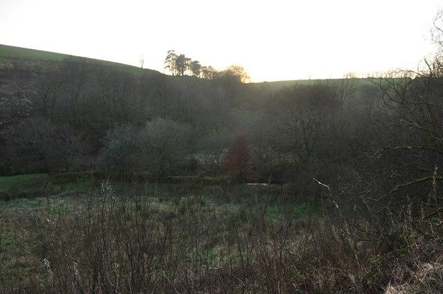 Exmoor : Bale Water & Field