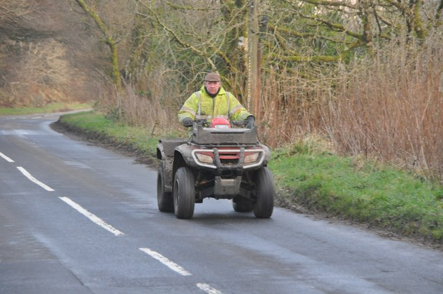 Exmoor : Quad Bike & B3358