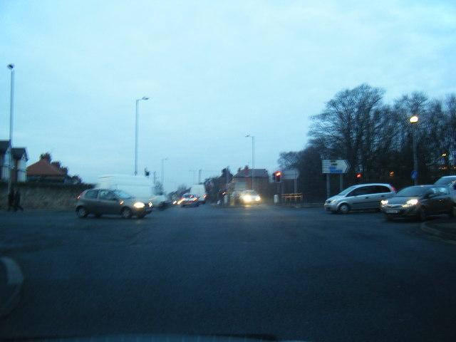 Liverpool Road North/Westway junction