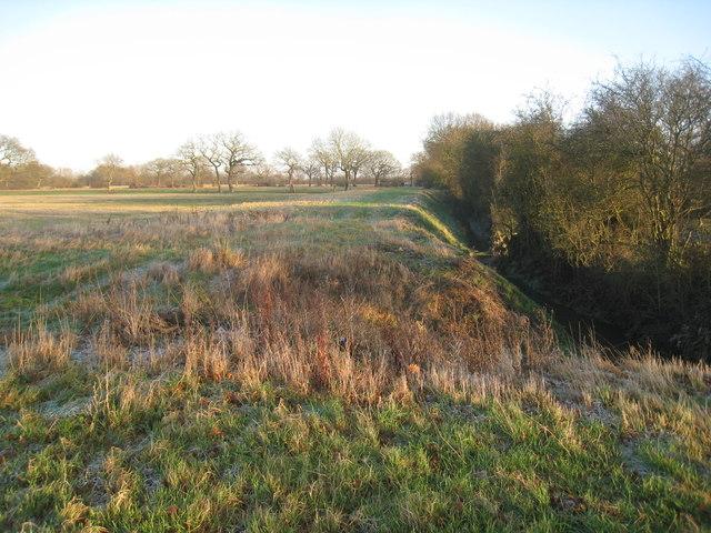 Carr land and Blackshaw Dike