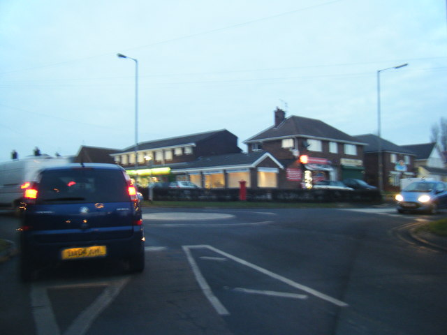 Southport Road/Moss Lane junction