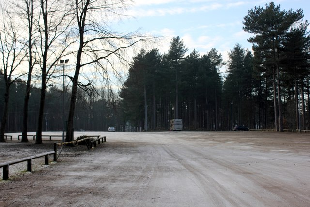Whitefield Car Park in Delamere Forest