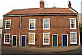 SK9771 : Drury Lane cottages by Richard Croft
