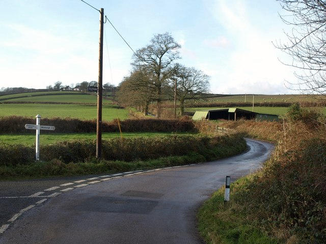 Bondleigh Bridge Cross
