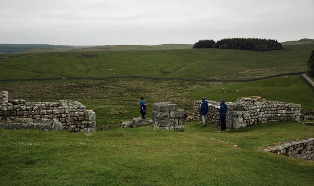 North Gate - Housesteads Roman Fort