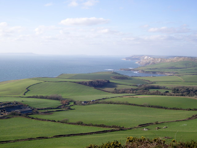 Swyre Head looking west