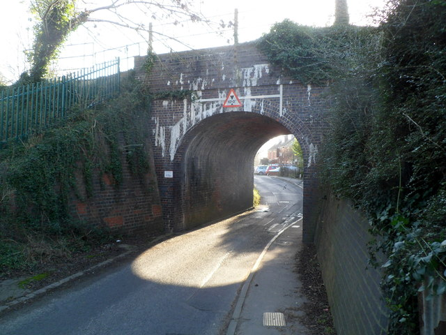 Foxmoor Lane railway bridge, Ebley