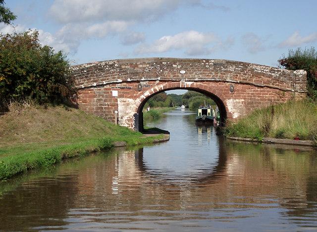 Victoria Bridge north-west of Market Drayton, Shropshire