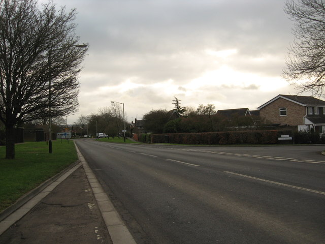 A road junction in Cricklade, Wiltshire