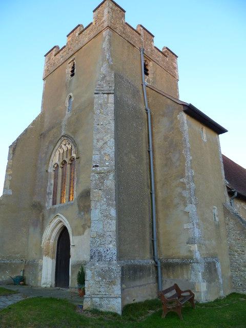 The church tower at Birdham
