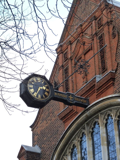 Clock, St Michael and All Angels