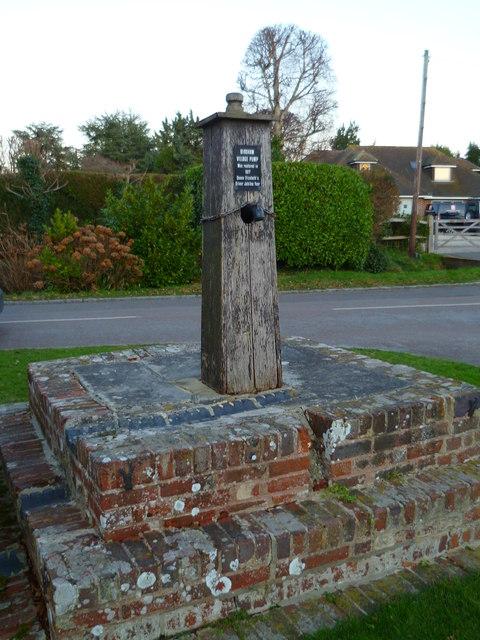 The village pump at Birdham